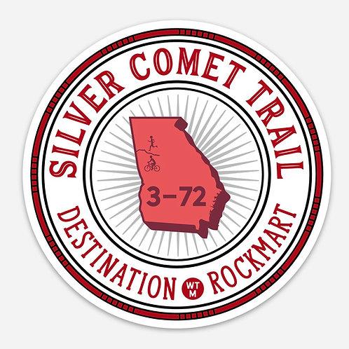 Sticker - Silver Comet Trail