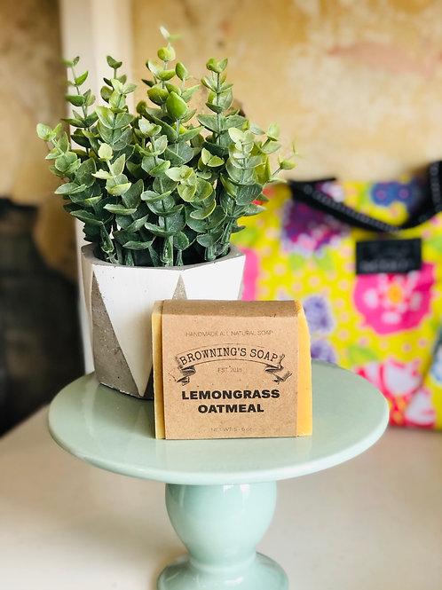 Soap-lemongrass oatmeal