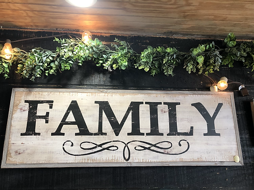 Sign - Family