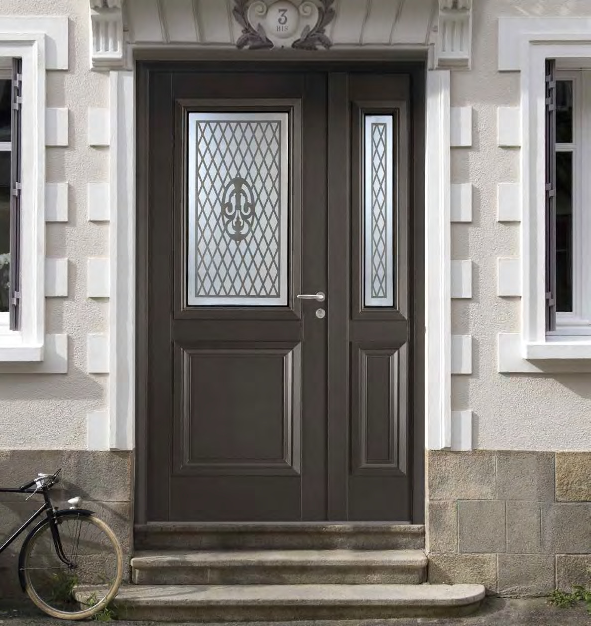 Porte tendance Aluminium