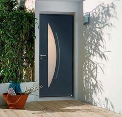 Porte aluminium sur mesure Rouen