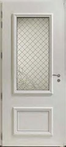 Porte d'entrée alu avec grille