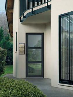 Porte Aluminium vitrée grand vitrage