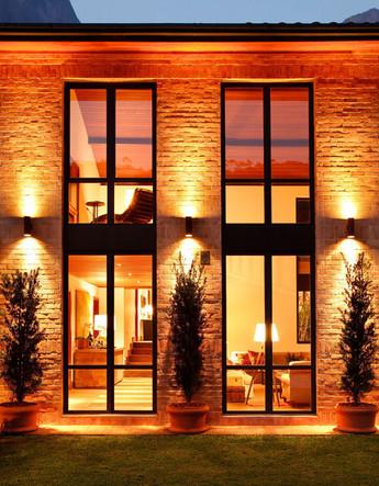 fenêtres aluminium noires