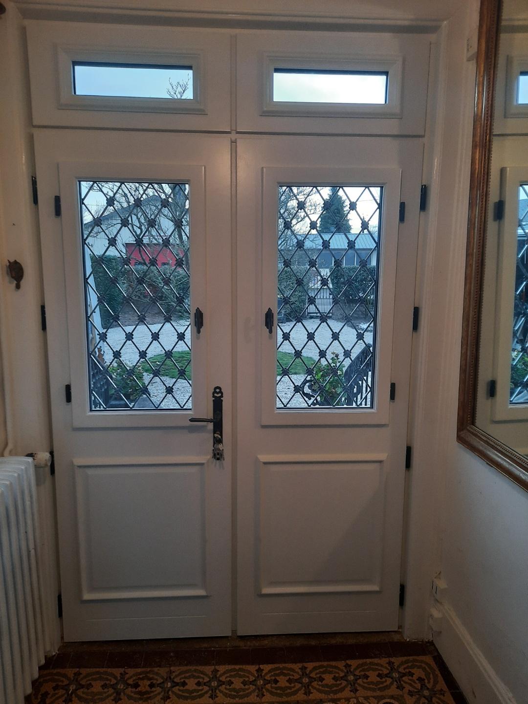 Porte zilten vue intérieur