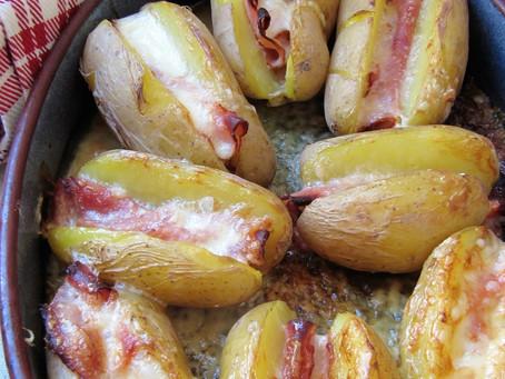Potatoes au jambon & au Maroilles