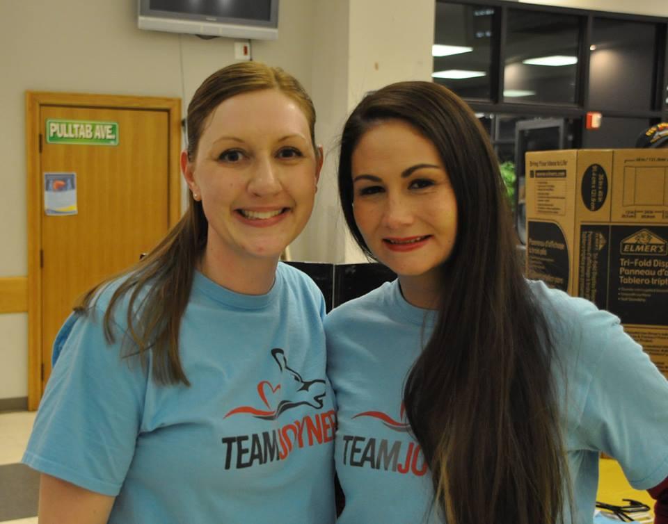 Kristin and Jana