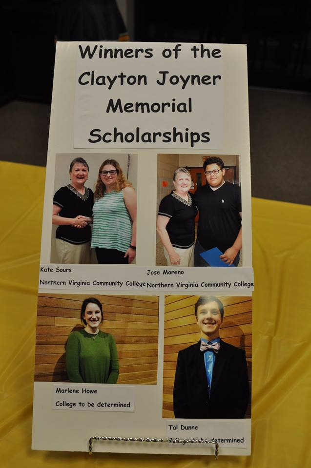 Scholarship Winners 2