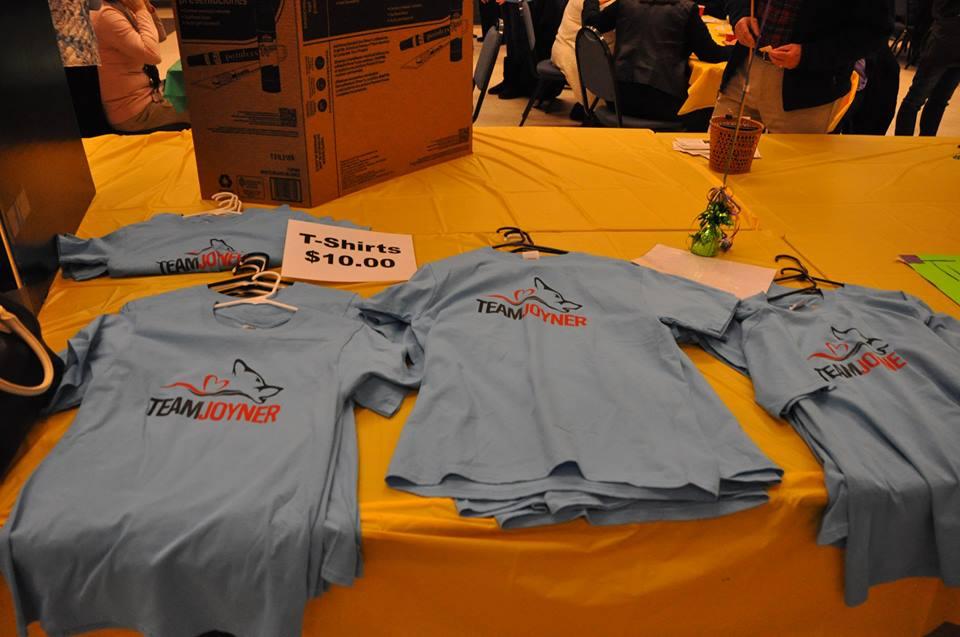 Team Joyner Shirts