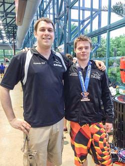 James Sturges & Coach CJ