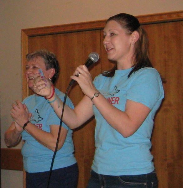 Nancy & Kristin