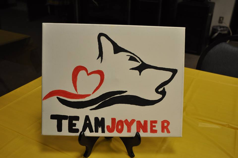 Team Joyner Canvas by Casey