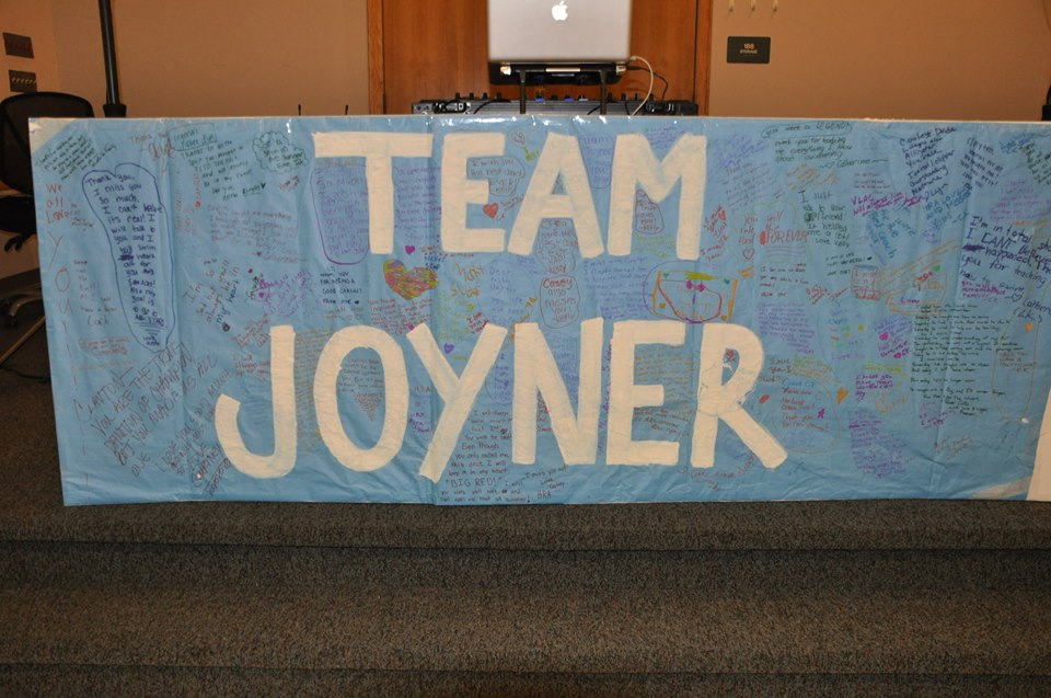 Team Joyner Messages