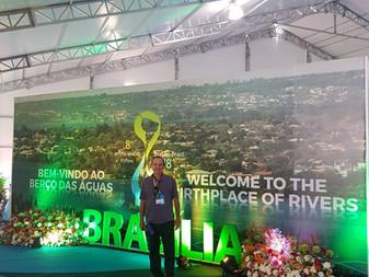 Associado da ASEAAMM participa do Fórum Mundial da Água em Brasília
