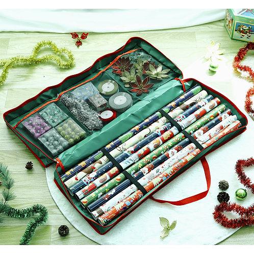 Vinsani® Christmas Decoration Gift Wrap Fabric Storage Bag