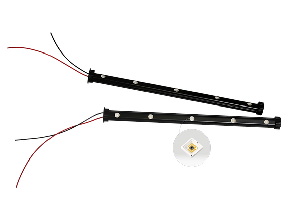 UV1001T UV Light Tube with Heatsink 1x5 UVC 10mW