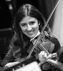 Valentina Moriggi violinista roma nord Circolo delle quinte