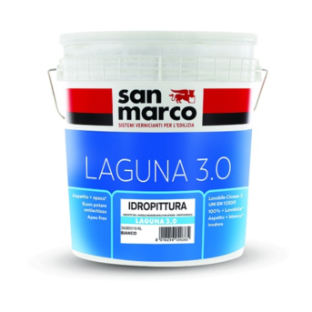 LAGUNA 3.0 Idropittura lavabile inodore opaca per interni Bianco