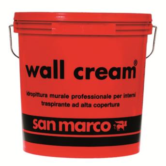 WALL CREAM idropittura murale traspirante per interni Bianco
