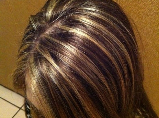 Hair Color & Partial Highlight