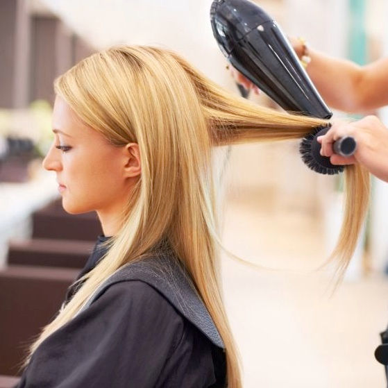 Hair Cut & Base Color