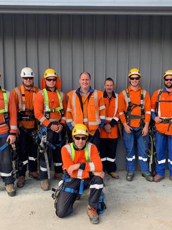 Team Whiskey - Line Mechanic Graduates