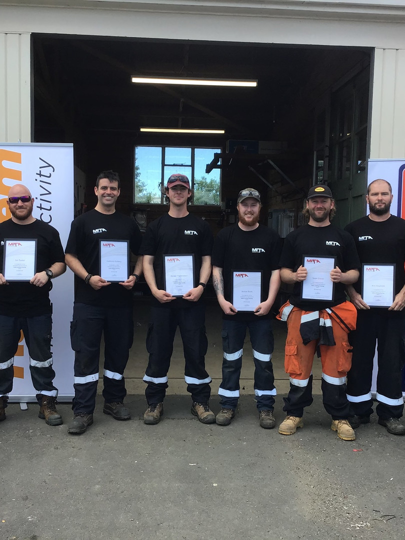 Team Taihape - Cable Jointing Graduates