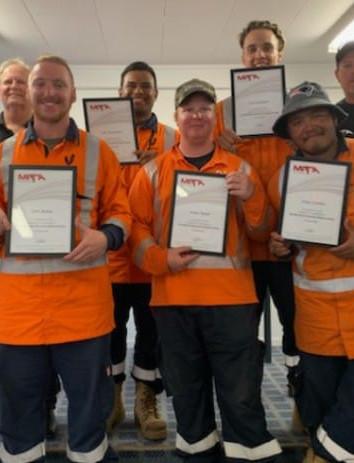 Team Lima - Line Mechanic Graduates