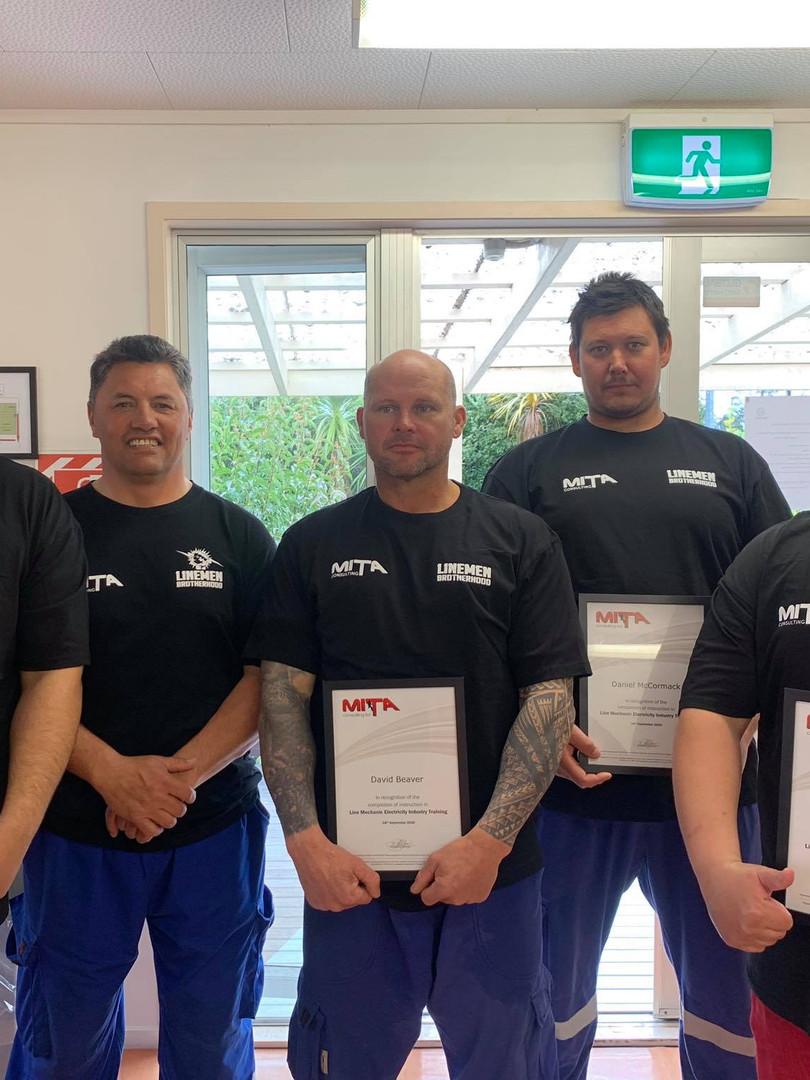 Team Victor - Line Mechanic Graduates