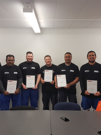 Team 192 - Line Mechanic Graduates