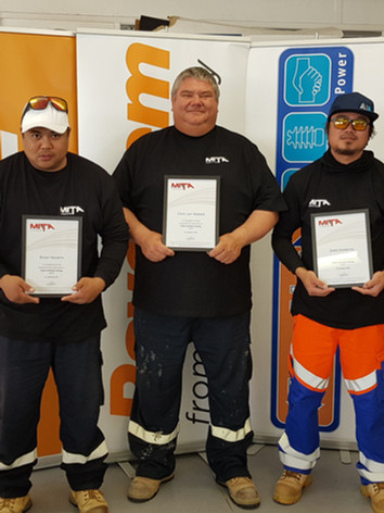 Team Warriors - Cable Jointing Graduates