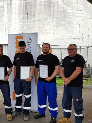 Team Methven - Cable Jointing Graduates