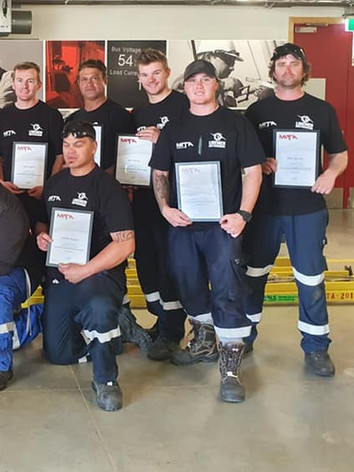 Team November - Line Mechanic Graduates