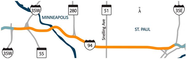 rethinking I-94 map