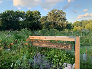 Eleanor Graham Community Garden sign