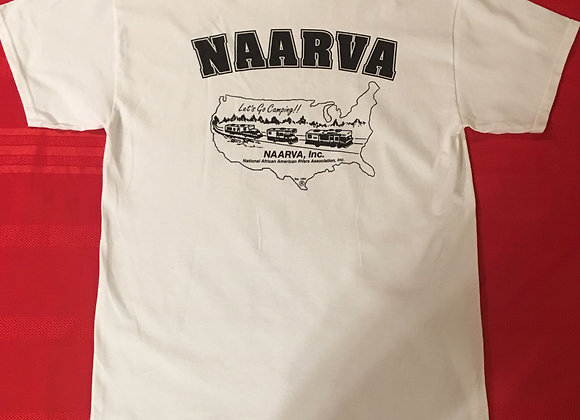 NAARVA White T-Shirt