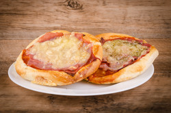 Mini pizza šunka nebo slanina