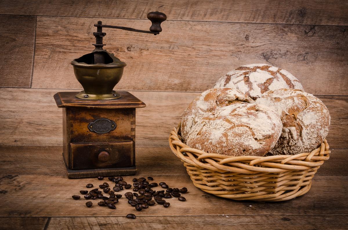 Žitné placky a žitný chleba
