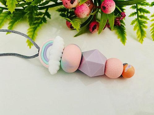 Rainbow Cloud Fidget Bracelet