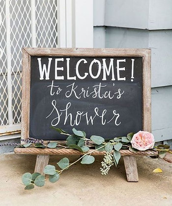 Standing Chalk Board Sign