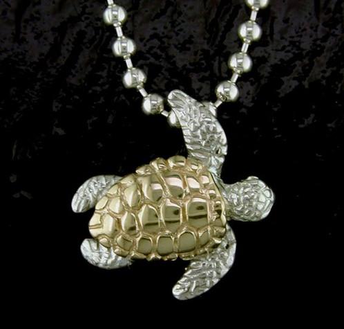 Sea turtle pendant home my jewelry place sea turtle pendant aloadofball Image collections