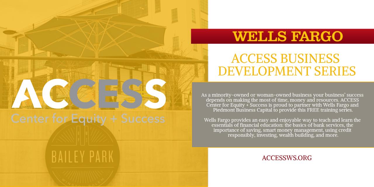Wells Fargo Business Development Courses- Spring 2019