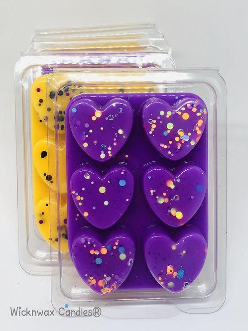 Wax Tart Heart Clamshell