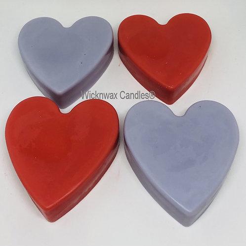 Chunky Heart Wax Tart
