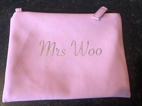 Personalised Make up bag/pencil case