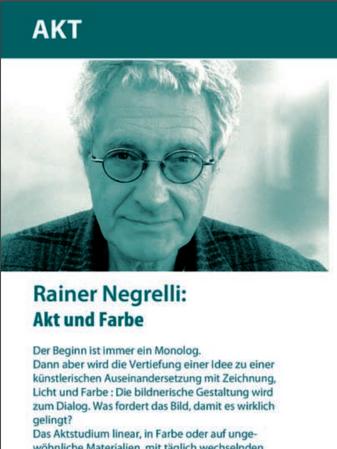 Kurs Rainer Negrelli