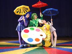 Надувное Шоу Волшебные краски