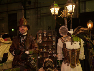 Ätherwerk @ Jahrhunderthalle Bochum - Steampunk Jahrmarkt Februar 2015