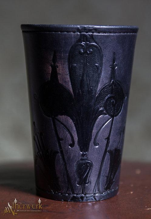 Würfelbecher / Dice Cup  Antik schwarz/black