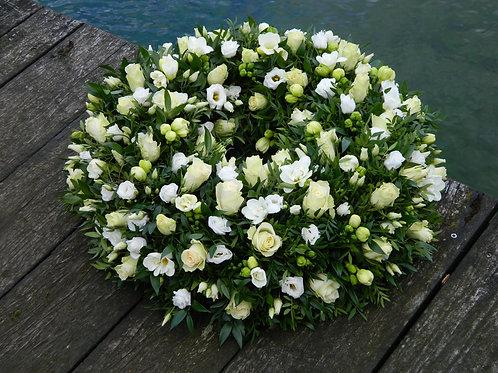 nr. 5 krans fresia+rozen